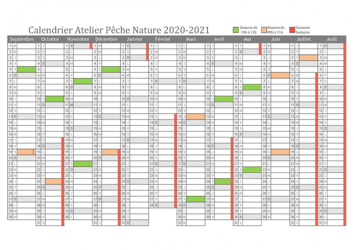 Calendrier apn 2020 2022